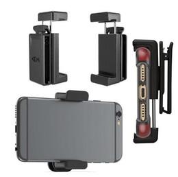 Argentina Nueva funda universal con clip de cinturón para soporte de teléfono celular Soporte de pie para iPhone X XS 9 8 7 6 Plus Samsung Note 9 Paquete comercial Suministro
