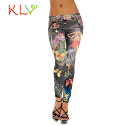 wholesale stylish jeans Coupons - KLV sexy pantalones newly stylish Sexy Womens Skinny Blue Jean Denim Leggings Stretchy Jeggings Pants calcas 17May 12