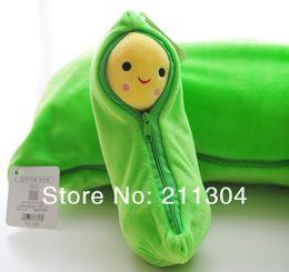Wholesale Friends Tv Series - Wholesale- Free Shipping Plush Toys 50cm length three peas pillow cushion soft stuffed super cute doll kids friends gift (big size)