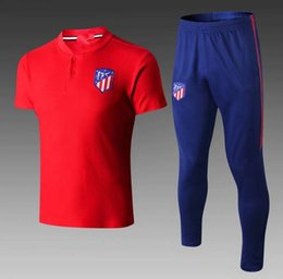 Top calidad 2018 atletico madrid camiseta de polo de camiseta de fútbol de  Alemania KITS 18 19 DYBALA POGBA ALEXIS manga corta pantalones largos de  fútbol ... a73fcd09dd28b