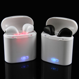 Wholesale Iphones Cell Phones - HBQ i7 TWS Wireless Music Earbuds Mini BT 4.2 Wlireless bluetooth inear Earbuds for iphones with microphone