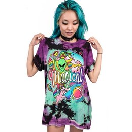 f99c389a6c74 2019 nuovi vestiti in stile rock T-shirt donna stampata Skull Punk Rock  Plus Size