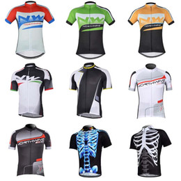 Wholesale mountain tours - Tour de France NW short Cycling Jerseys Ropa Ciclismo Breathable Bicycle Clothing cloth Quick-Dry GEL Pad Mountain Bike sportwear C1402