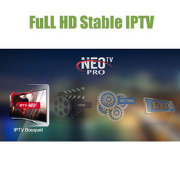 Wholesale Channel Movies - Neotv French Iptv Subscription 1800 channel 2000 movies Europe Arabic Italian stream media player for fire tv