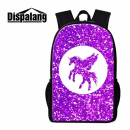 3d64a82489b3 Dispalang Fashion School Backpack Unicorn Print Shoulder Back Pack Cutbag  for Girls Lightweight Trendy s Rucksacks