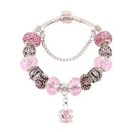 c39498013067 AIFEILI Moda Europea Lindo Estilo Rosa Colgante de Perlas de Serie DIY  Adecuado para Las Mujeres Pulsera de la Tendencia de La Venta Caliente de  La Joyería ...