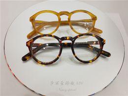 c1f98cc2d90 Brand design retro vintage Moscot miltzen johnny depp prescription glasses  optical eyeglasses spectacle Sunglasses frame free shipping