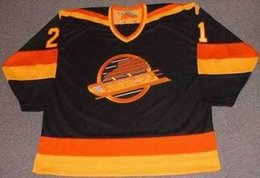 Wholesale Vintage Cams - Vancouver Canucks Jersey 18 IGOR LARIONOV 1991 19 DALE TALLON 19 MARKUS NASLUND 20 RYAN KESLER 21 CAM NEELY Vintage Throwback Hockey Jerseys