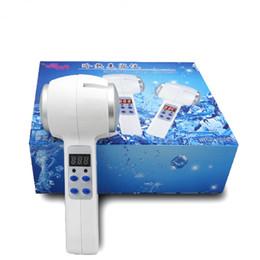 Hot Sale Hot Cold Martelo Ultrasonic Cryotherapy Massager Rejuvenescimento Da Pele Ferramenta de Cuidados Com A Pele de Levantamento Facial Ultrasound Therapy Beauty Machine de Fornecedores de martelos quentes frios