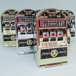 Wholesale Game Slot Machine - Mini Casino Jackpot Fruit Slot Machine Money box Game Toy For Kids Adult Decompression Toys Gold Sliver Slot machine toy LC777