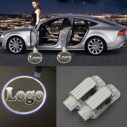 2019 bmw willkommen 3D Laser Autotür Willkommen Lichter LED KREIS Geist Schatten Licht Logo Projektor Courtesy Lights für Mercedes-Benz BMW Toyota Audi rabatt bmw willkommen