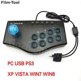 2019 pc joystick del gioco di arcade USB Wired GamePad per PC Game Controller Arcade Game Joystick USB Controller di gioco Gamepad Mame per PC PS3 Gaming sconti pc joystick del gioco di arcade