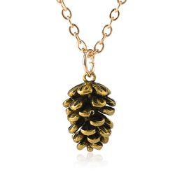 Europa y los Estados Unidos transfronteriza simple moda piña collar  espécimen planta accesorios de moda para mujer joyas al por mayor 482a80faacb