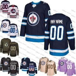2019 2018 Custom Mens Women Youth Winnipeg Jets Mark Scheifele Patrik Laine  Toby Enstrom Bryan Little Tyler Myers Hockey Jersey Size S 3XL From ... d5ca11b5b