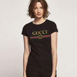 camisetas de algodón para niñas Rebajas Mujeres Niñas Algodón 100% algodón T-shirt Sólido de manga corta Camiseta Casual Más el tamaño de la camiseta femininas Señora ropa camisetas Top grande S - 5XL
