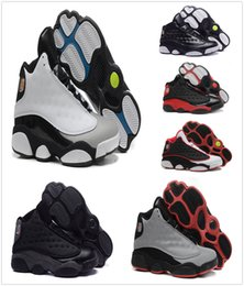 Wholesale Top China Shoes - 2018 New Air Retro 13 China mens basketball shoes top quality basketball sports shoes for men many colors US 8-13 Free Drop Shipping