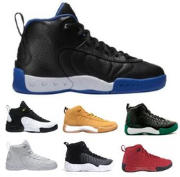 Wholesale Christmas Sugar - 2018 JUMPMAN Pro OG Taxi Bred Men's Basketball Shoes Black Men Reloj 12.5 Allen Sugar Ray Cyber Monday Replicas Homme Sprot Sneakers