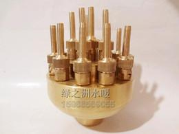 Wholesale Copper Spray - Adjustable 1 flowers spray nozzle adjustable interlobule fountain nozzle water features copper