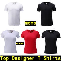 Wholesale famous t shirts brands - mens Designer T shirts Men's Short sleeve polo tshirt Cotton Custom women T-shirt Fashion Famous Luxury Brand T shirts men designer shirt