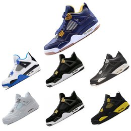 premium selection 852a1 dd9b5 Nike Air Jordan Retro 4 4s 2018 Basketball-Schuhe 4 Herren Basketball-Schuhe  Großhandel Neue Qualität Günstige 4s Pure Money Sport Schuhe Sneakers Größe  us ...