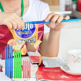2019 clips de sellado de alimentos Nueva cocina en casa bolsa de alimentos Clips de sellado Lock Sticks reutilizable bolsa sellador de alimentos frescos sellado organizador de almacenamiento IC614 clips de sellado de alimentos baratos