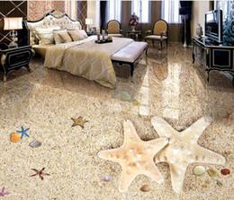 Canada papier peint en vinyle de cuisine Beaux revêtements muraux en 3D plancher de plage romantique cheap adhesive wall coverings Offre