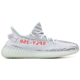 Wholesale Green Tint - SPLY 350 V2 Semi Frozen Yellow Beluga 2.0 Blue Tint Zebra Cream White V2 350 Running Shoes Mens Womens Sneakers