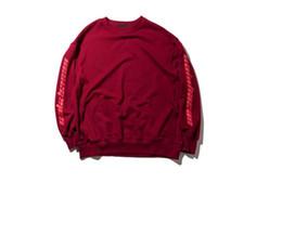 Black White Red Letter Print Sweatshirt Kanye West O-Neck Pullover Hoodie  Hip Hop Streetwear Unisex Skateboard Sweater Top 0ae1d0339