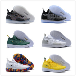 f52f4c7ac6b451 2018 new KD 11 XI Basketball Shoes Black Grey Persian Violet Chlorine Blue Sneakers  Kevin Durant 11 Designer Shoes Mens Shoess