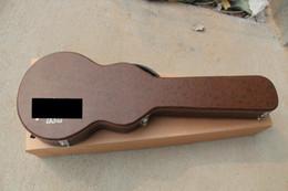guitare électrique oem st Promotion étui rigide pour guitare marron, ne pas détailler, avec la guitare à vendre