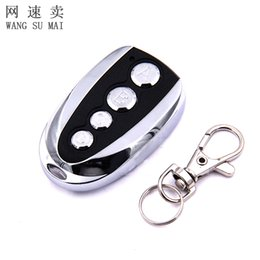 Wholesale Auto Remote Keys - Newest Universal ABCD Key Control 433.92MHZ Remote Cloning 4 Channel Auto Car Garage Door Duplicator Rolling Code For Car