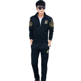 Traje coreano de los deportes de la primavera del otoño de los hombres Traje  uniforme Hombre Hombres Juvenil del deporte de los hombres Trajes masculinos  de ... 51bcee7b1a7e