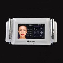 2019 billige wickelmaschinen 2018 Hohe Qualität Elektrische Permanent Make-Up Maschine Digital Artmex V8 Touch Tattoo Maschine Derma Stift Dreh Stift MTS PMU System Tattoo