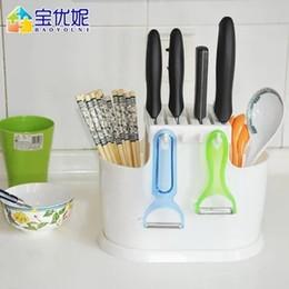 2019 küchengerätehalter Multifunktions-Küchenwaren-Haushaltsessstäbchenkäfig Werkzeughalterkasten-Essstäbchenregal geben Verschiffen frei günstig küchengerätehalter