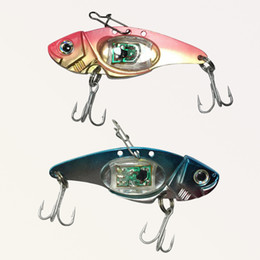 Wholesale led fishing lures - Wingbind LED Light Fish Bait Lure Stylish Fish Attractors Underwater Deep Drop Fishing Flashing Lamp Lure Light
