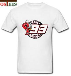 Wholesale Men S Polka Dot Shirt - Marc marquez 93 T-Shirt Moto GP campeon T shirt Men Ducati Motorcycle lovers casual Tee summer Top hipster cool Man motogp shirt