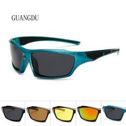 Lente amarilla Gafas de conducción nocturna Gafas de visión nocturna  Hombres polarizados 2018 Gafas de sol deportivas Hombres Aire libre  Dropshipping gafas ... a3d6a4234f2b