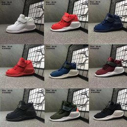 Wholesale High Cut Black Tennis Shoes - High Quality Men Women KWAZI Sports Running Shoes best Women Athletic walking Tennis Sports Shoes Training Sneakers Red Black White