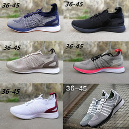 pretty nice da2c9 6ad7d nike Air zoom racer 2 Lo nuevo Air Zoom Mariah Racer 2 Mujeres Hombres  Zapatos deportivos ocasionales Negro Blanco Rojo AIR Zoom Racers Sneaker  Trainers ...