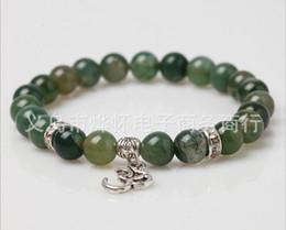 schöne männer schmuck Rabatt schöne Schmuck Yoga Simbol Perlen Armband natürlichen Wasser Armband für Männer und Frauen