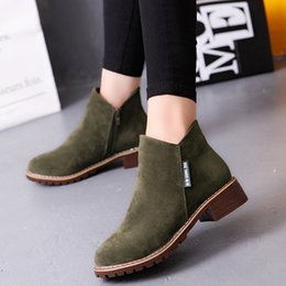 Wholesale Fashionable Rubber Boots - Warm fashion ladies shoes fashionable sexy ladies wear-resistant antiskip waterproof platform high-grade matte leather high-heeled boots