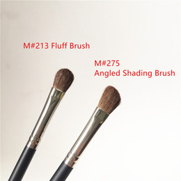 Pony-make-up online-MACJAPAN 213 Flaum Brush / 275 Mittelschrägschattierpinsel - Soft Pony Hair Eyeshadow Blending Contouring - Schönheit Make-up Pinsel Blender