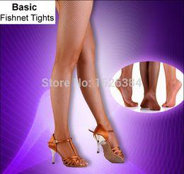 8cb406056ba65 Girls Women Black Nude Caramel Basic Fishnet Tights For Latin Ballroom  Dance Soft Yarn Footed And Toeless