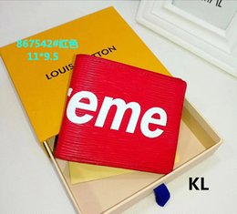 Wholesale top brand designer bags - Luxury Brand Men and Women Short Wallet Designer High Quality Leather Credit Card Fashion Purse Cheap Top Sell AAA Bag Coin Handbag