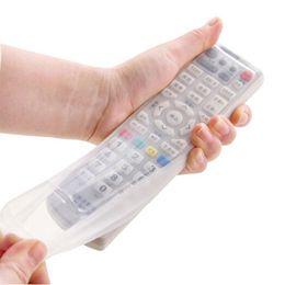 ТВ кондиционер пульт дистанционного управления силиконовый протектор чехол обложка кожи водонепроницаемый мешок сумки от Поставщики беспроводной адаптер xbox оптом