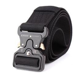 Wholesale Outdoor Vinyl - Hot Mens Tactical Belt Military Nylon Belt Outdoor multifunctional Training Belt High Quality Strap ceintures