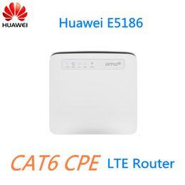 Wholesale Unlock Huawei - Unlock 300M 4G LTE CPE CAT6 Router Huawei E5186-61A