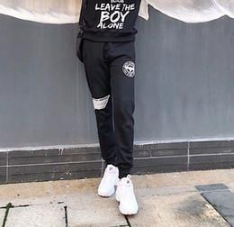 503a4e0106b6 wei fashion Скидка 2018 Мужчины и женщины брюки прилив Марка мода горячий  стиль осень дизайнер Орел