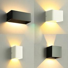 современная лампа для наружной установки Скидка Современный минималистский настенный светильник открытый светодиодные лампы светильник для спальни прикроватные гостиная коридор отель коридор настенные светильники