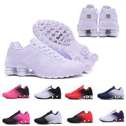 2019 homens, correndo, sapato, shox 2019 Shox Deliver 809 Homens Air Running Shoes Transporte Da Gota Atacado Famoso DELIVER OZ NZ Mens Tênis Esportivos Running Shoes 40-46 homens, correndo, sapato, shox barato